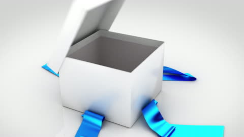 vidéos et rushes de coffret cadeau d'ouverture. 6 couleurs en 1. - cadeau