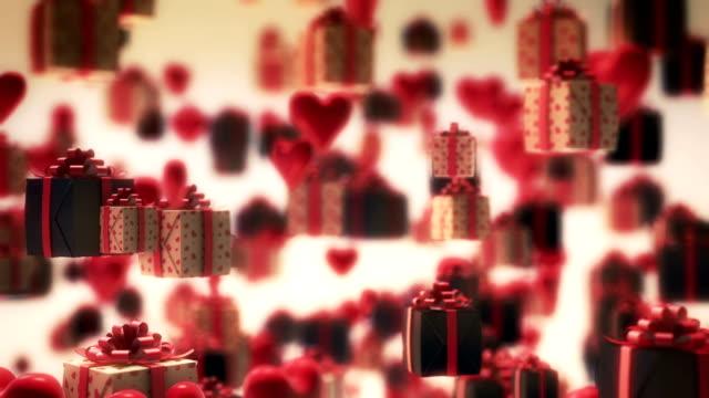 ギフトボックス - クリスマスプレゼント点の映像素材/bロール