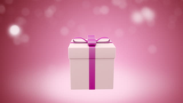 Gift for girl. Loop video