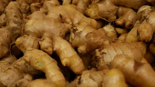 Ginger at Farmer's Market