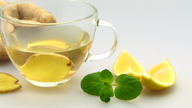 ginger tea Hot drinks, a cup of ginger tea ginger spice stock videos & royalty-free footage