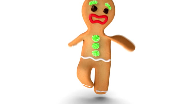 Gingerbread Man is Trying To Jump video
