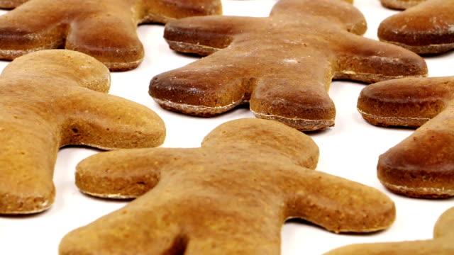 gingerbread man - pepparkaka bildbanksvideor och videomaterial från bakom kulisserna