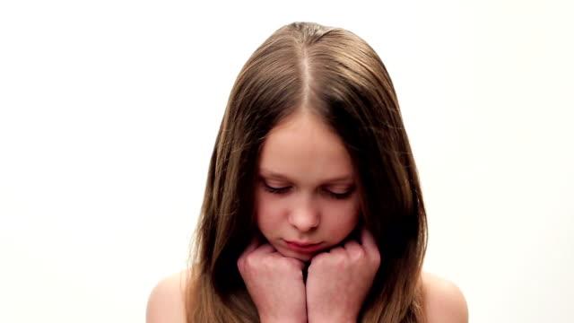 flicka brunett visar - brunt hår bildbanksvideor och videomaterial från bakom kulisserna