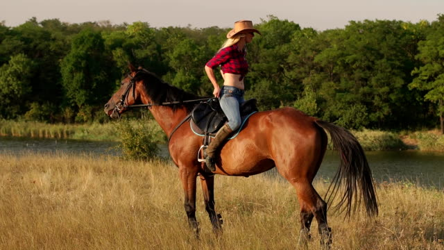 1946b21cf Best Cowboy Hat Stock Videos and Royalty-Free Footage - iStock