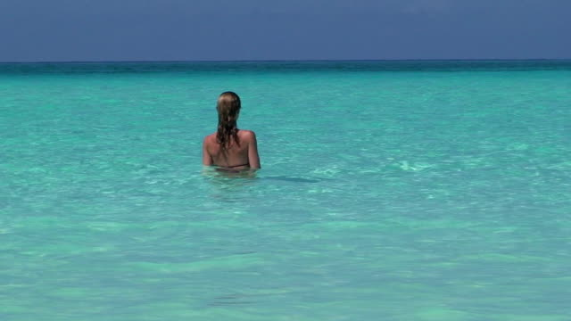 Girl in Turquoise Waters video