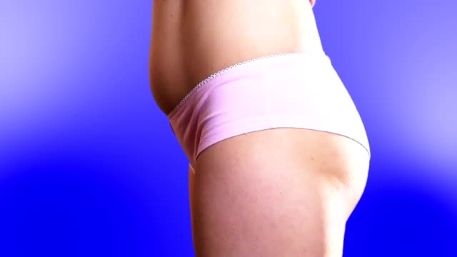 Girl in underwear video