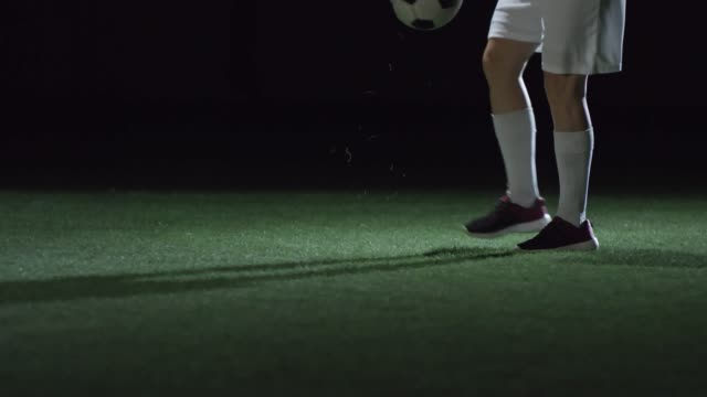 Girl Juggling Soccer Ball video