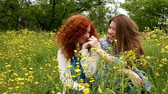 Girl pinches nose to her girlfriend. Slow motion Best friends forever. Girls look at each other. Girl pinches nose to her girlfriend. Slow motion. The concept of friendship. pinching stock videos & royalty-free footage