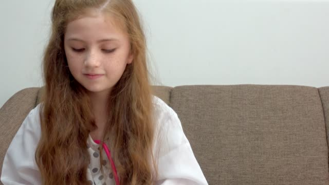 A Girl Play Drawing Heart video