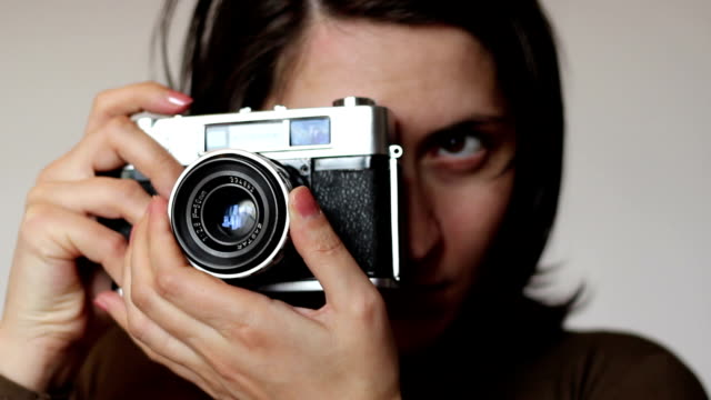 Girl Taking Pictures video