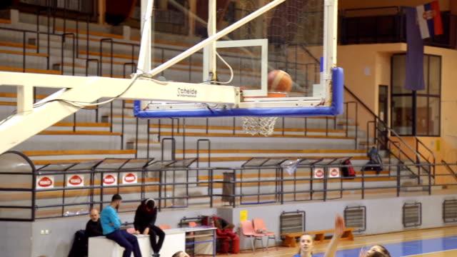 Girls basketball match video