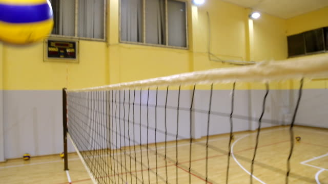 Girls playing volleyball video