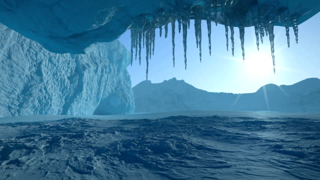 Glacier Cave Timelapse video