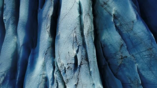 glacier iceland in winter - ледник стоковые видео и кадры b-roll