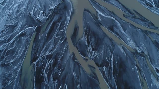 Glacier Iceland in winter