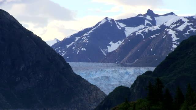 Glacier in Alaska at Tracy Arm Fjord v115 video