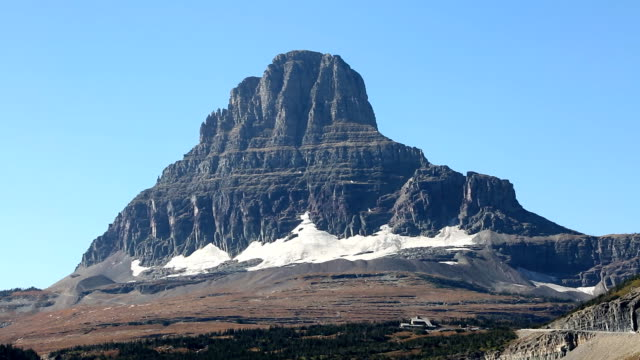 Glacier in Glacier National Park video