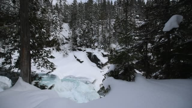 Glacier National Park in Winter video