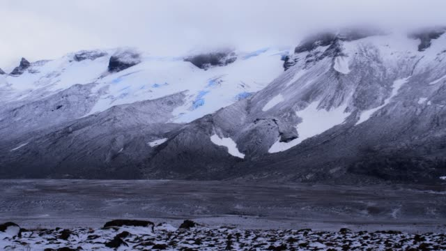 DS Glaciers and mountains in Iceland video