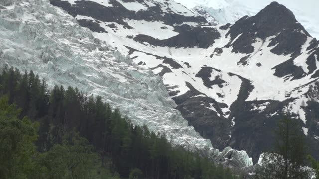 stockvideo's en b-roll-footage met gletsjers rond mont blanc - matterhorn