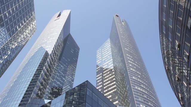 Glass facade skyscrapers, Business District, Paris, HD (1920x1080, 25 fps)