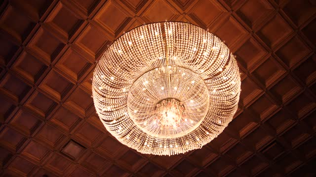glass large chandelier in theater glass large chandelier in theater vintage architecture stock videos & royalty-free footage