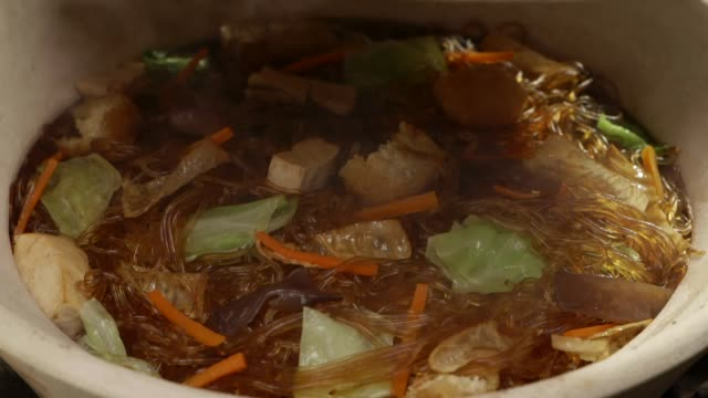 glass noodle with vegetarian video