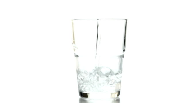 glass of water video