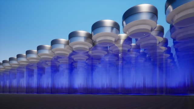 Glass vials new medication developing vaccination 4k