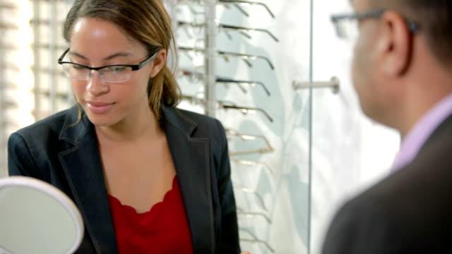 Glasses consultation video