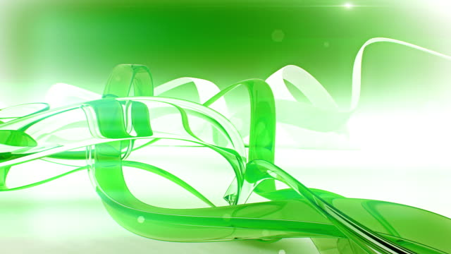 Glassy Green Ribbons video
