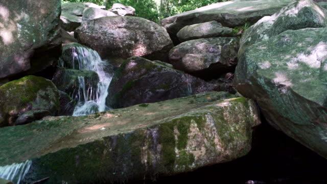 Glen Onoko Falls in the Lehighton State Park, near by Jim Thorpe. Pennsylvania, USA. video