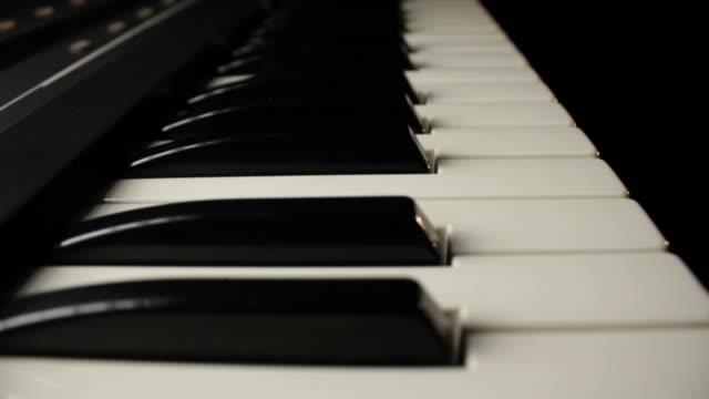 Gliding Along Piano Keyboard video