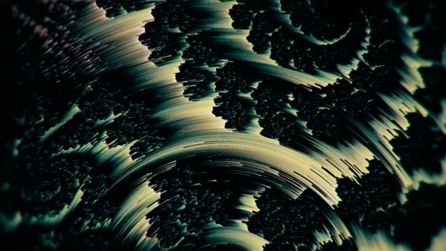 Glitch texturized multicolored twitchy looping background video