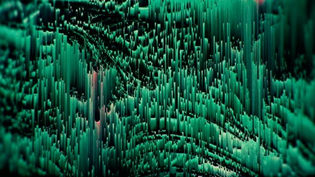 glitch texturiert mehrfarbige nervös schleife hintergrund - feedback stock-videos und b-roll-filmmaterial