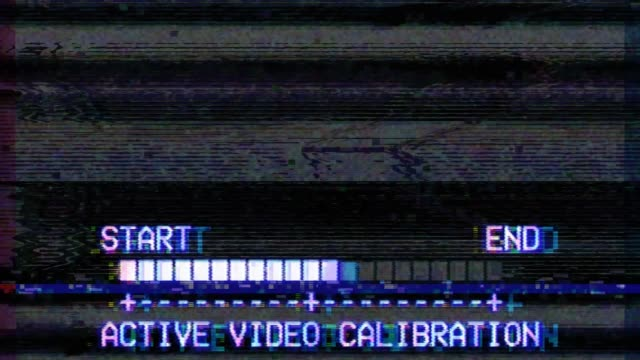 glitch tv static noise distorted signal problems - mangianastri video stock e b–roll