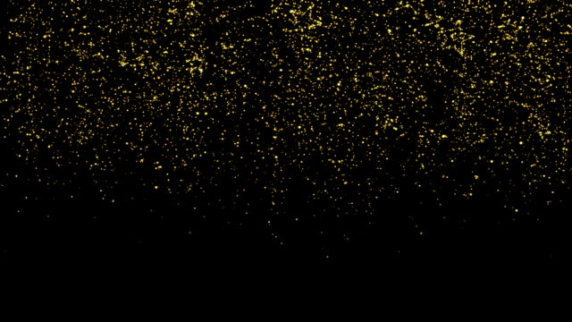 Glitter and Stars Decoration Background video