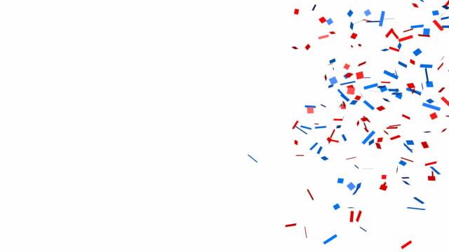 Glitter confetti background video