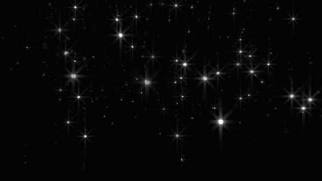 Glitter Falling Background Loop video