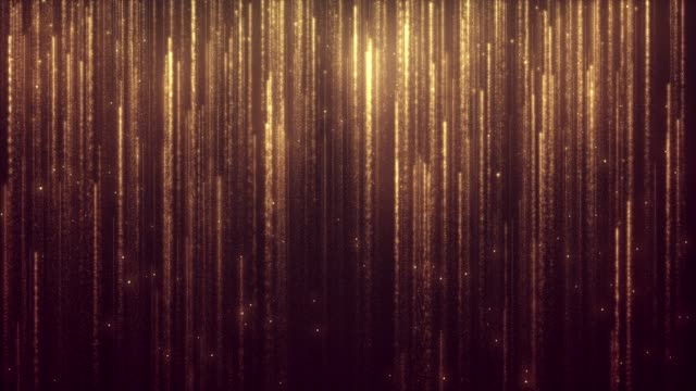 glitter golden rain - abstract effect stock videos & royalty-free footage