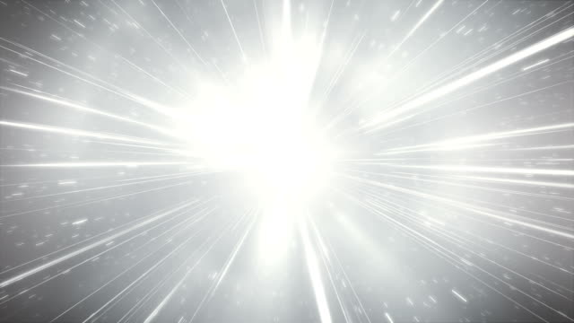Glitter / High Speed / Light Speed Animation (Silver) - Loop Seamlessly loopable animation, perfectly usable for topics like high speed or space travel. brightly lit stock videos & royalty-free footage