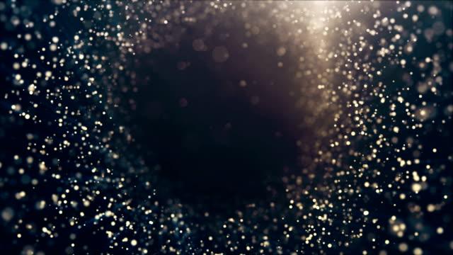 Glitter lights defocused background loop - Vidéo