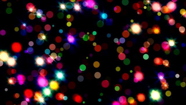 glitter stars background video
