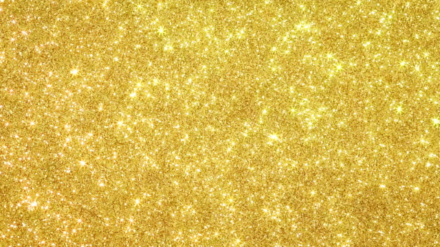 Glittering background with moving small stars