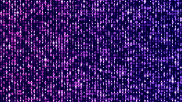 閃閃發光的五顏六色的窗簾背景無限迴圈 - 表演 個影片檔及 b 捲影像