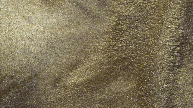 運動中的閃光顏色 - gold texture 個影片檔及 b 捲影像