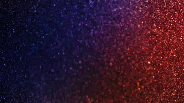 Glittering Particles Background video