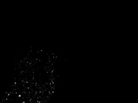 vídeos y material grabado en eventos de stock de estrellas brillantes animados - espacio y astronomía