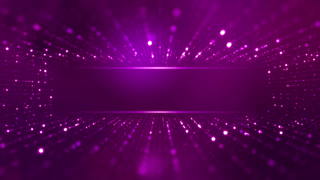 Glittering Stars Particle Background - Loopable